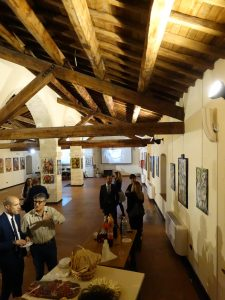 Battute finali del vernissage